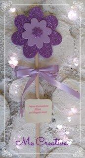 Fiore Glitter Portaconfetti
