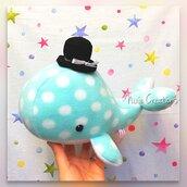 Pupazzo Lord Baleno Azzurro - Fanta Pets by Nixie Creations