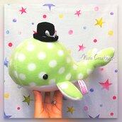 Pupazzo Lord Baleno Verde - Fanta Pets by Nixie Creations