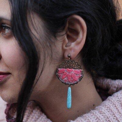 gioielli unici disegni orecchini etnici online , orecchini tradizionali