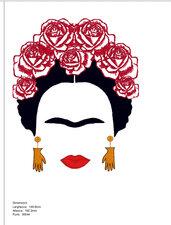Ricamo Frida Kahlo Vp3, Pes, Pec, XXX, VIP, HUS, JEF, DST, EXP