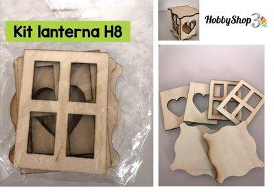 Kit lanterna H8 (6 pezzi)