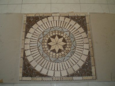 mosaici in marmo