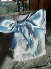 Sacchetti portaprodotti per i vostri neonati sono tutti realizzati totalmente a mano