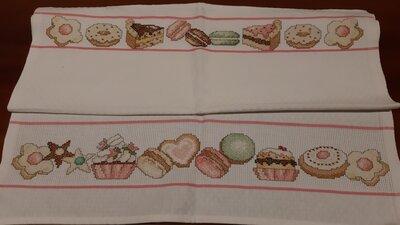 Asciughino cucina / Tovaglietta biscotti