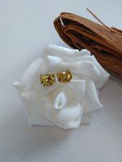 Orecchini lobo gatto orecchini donna glitter oro orecchini animali orecchini fatti a mano in resina