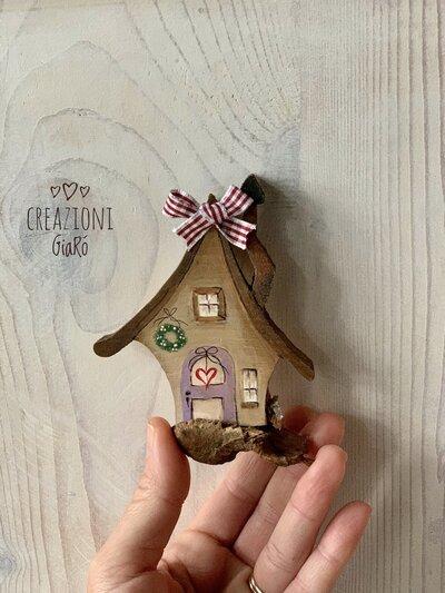 Mini Casetta di legno
