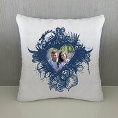 Cuscino Cuore Decorato personalizzato