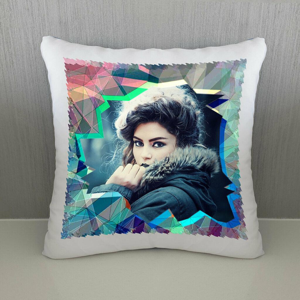 Cuscino Geometria colorata personalizzato