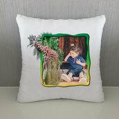 Cuscino Giraffa personalizzato