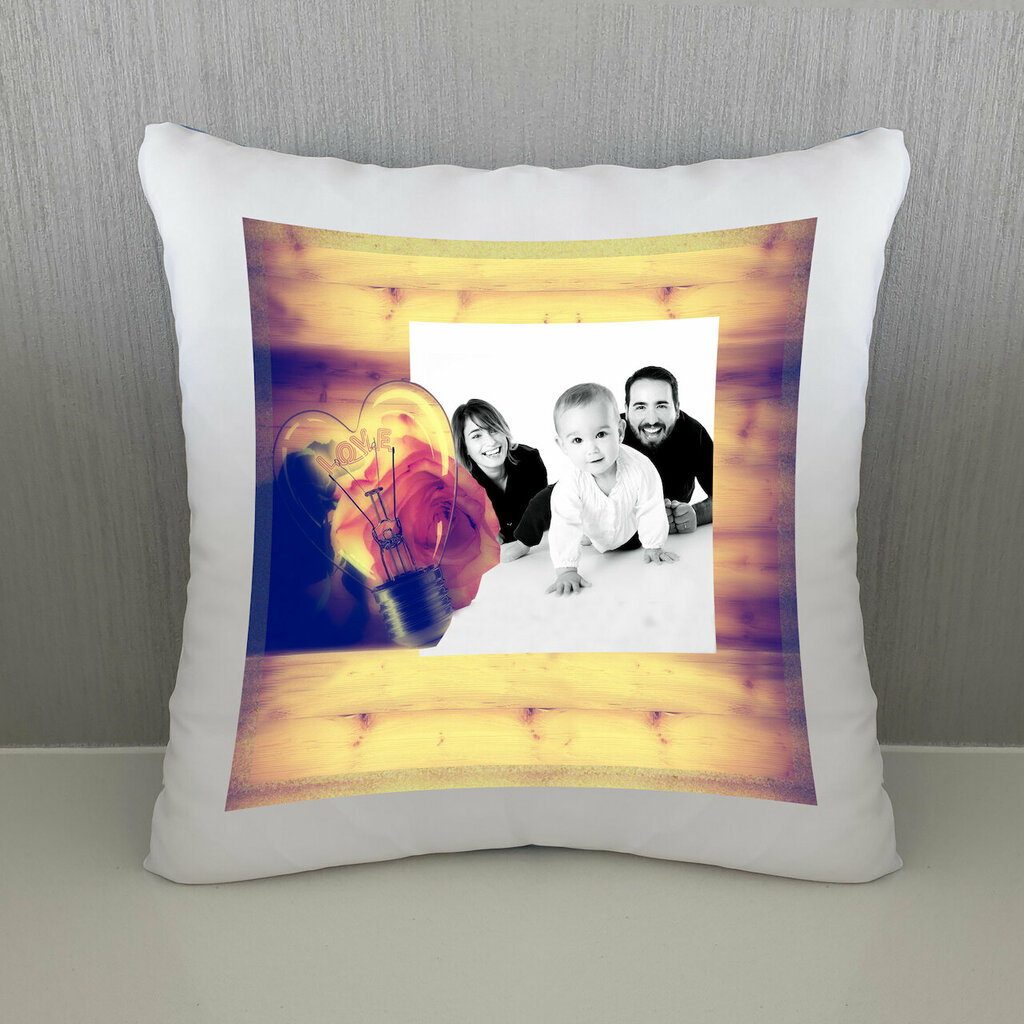 Cuscino Lampadina personalizzato