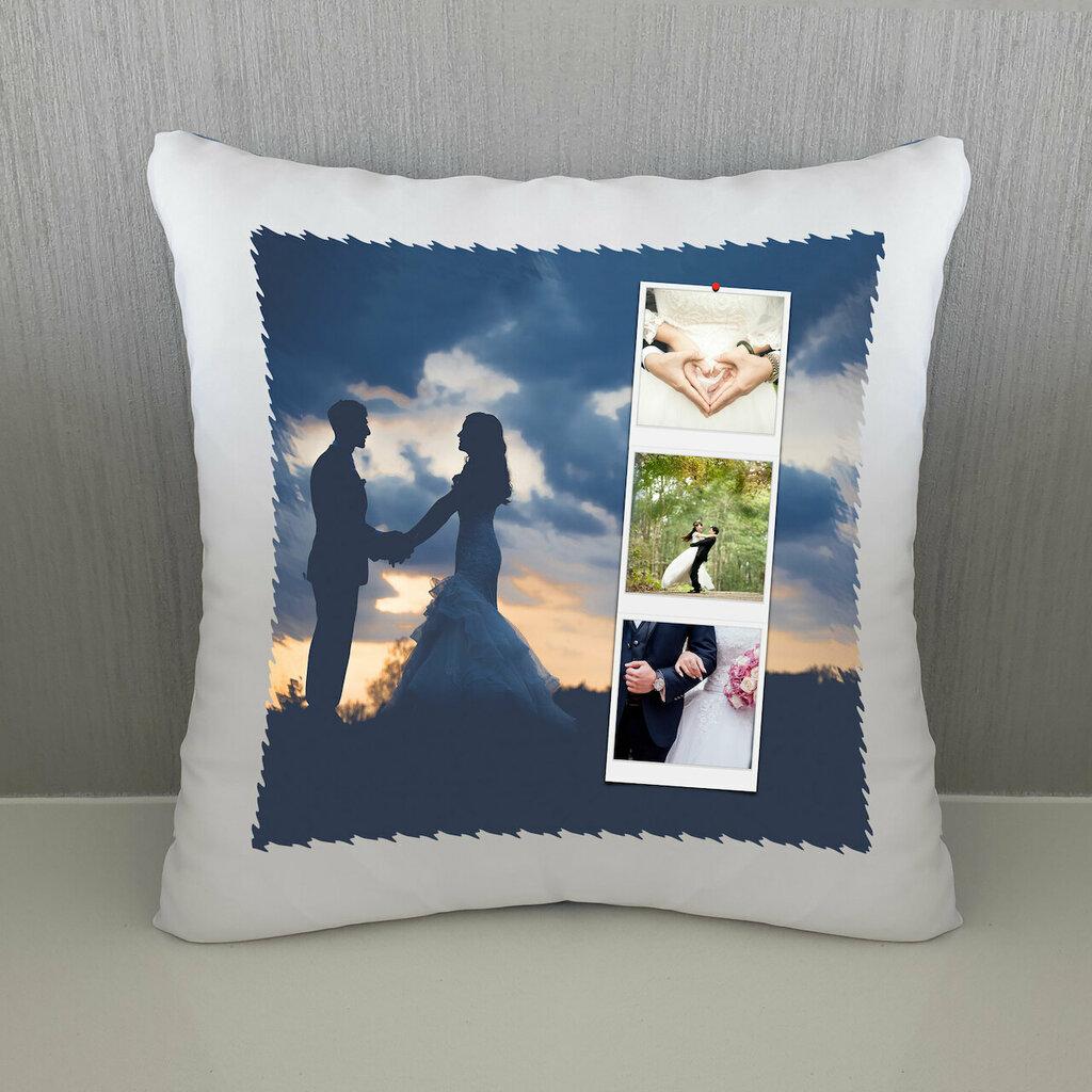 Cuscino Polaroid wedding personalizzato