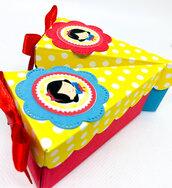 Bomboniera scatola Biancaneve porta confetti compleanno
