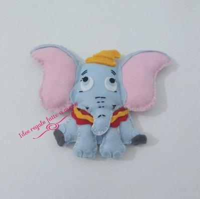 Peluche Dumbo fatto a mano