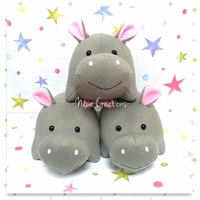 Pupazzo Ippopotamo HAPPY - Fanta Pets by Nixie Creations