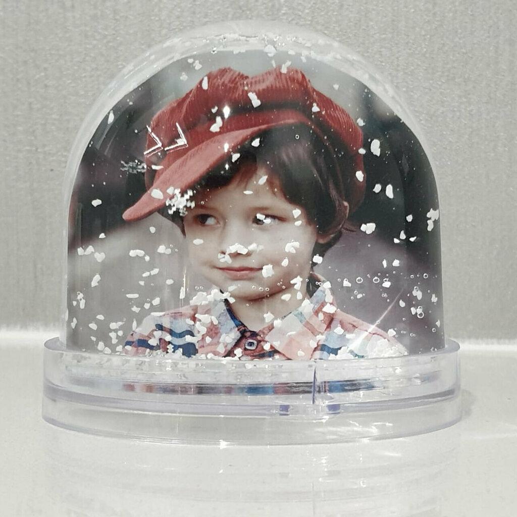 Globo CreaTu con neve personalizzato