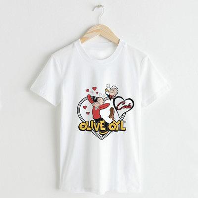 T-shirt Uomo-Donna Braccio di Ferro personalizzata
