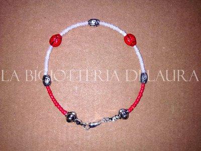 bracciale braccialetto coccinelle perline