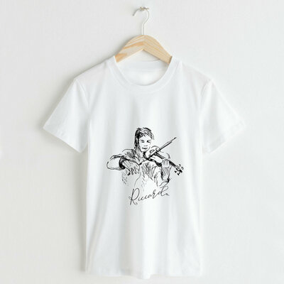 T-shirt Donna Violino personalizzato