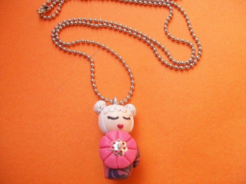 Collana Kokeshi doll