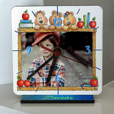Orologio Orsetti da tavolo personalizzato