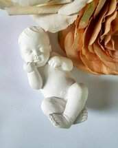 gessetto bomboniera neonato nascita