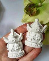 giostrina in gesso ceramico