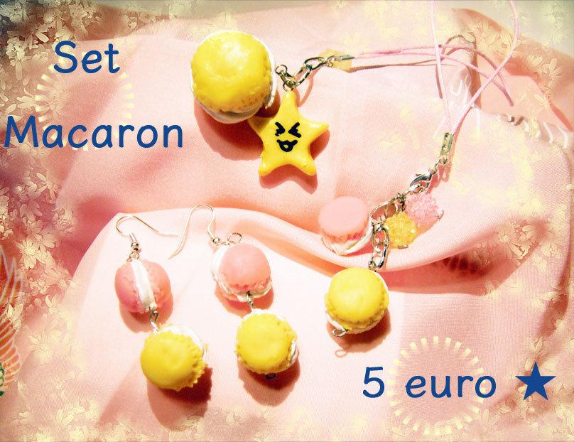 Set macaron