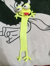 Segnalibro serpente amigurumi