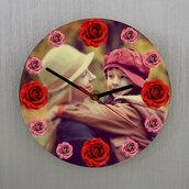 Orologio  Mamma da parete personalizzato