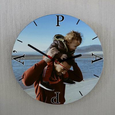Orologio  Papà da parete personalizzato