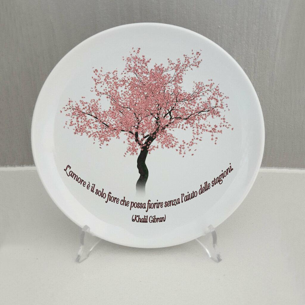 Piatto Albero di ciliegio personalizzato