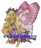 Schema punto croce Barbie Fairytopia
