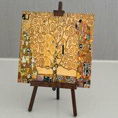 Quadretto Klimt personalizzato
