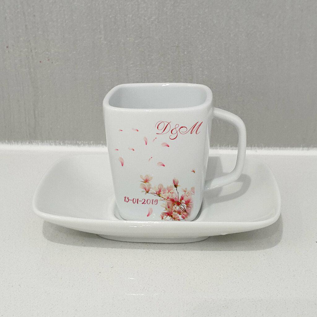 Tazza da caffe Fiori di ciliegio personalizzata