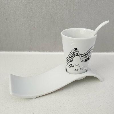 Tazza da caffe Pentagramma personalizzata