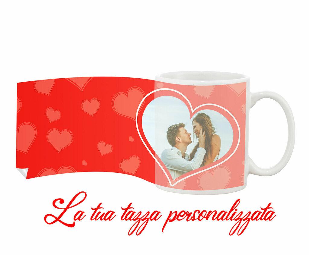 Tazza Mug Cuori personalizzata