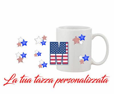 Tazza Mug Iniziale English personalizzata
