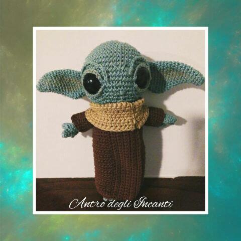 amigurumi Yoda bambino