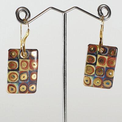 Orecchini I colori di Kandinsky