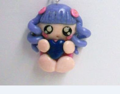 "CHARMS IN FIMO PER BOMBONIERE ""LITTLE DOLLY"""