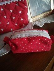 Portafazzolettini da borsetta ,tutti realizzati a mano, ottima idea regalo per Pasqua