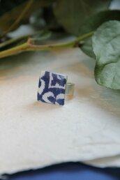 azulejo anello quadrato effetto ceramica portoghese