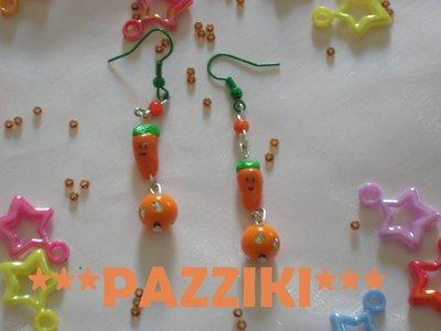 orecchini carotine