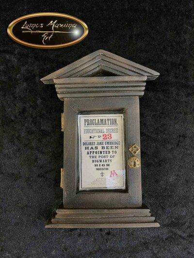 Decreto didattico Dolores Umbridge