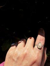 Anello in Argento | Goccia | Chrysalism