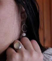 Orecchini in Argento | Tondi intrecciati | Chrysalism