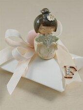 bomboniera comunione cresima geisha