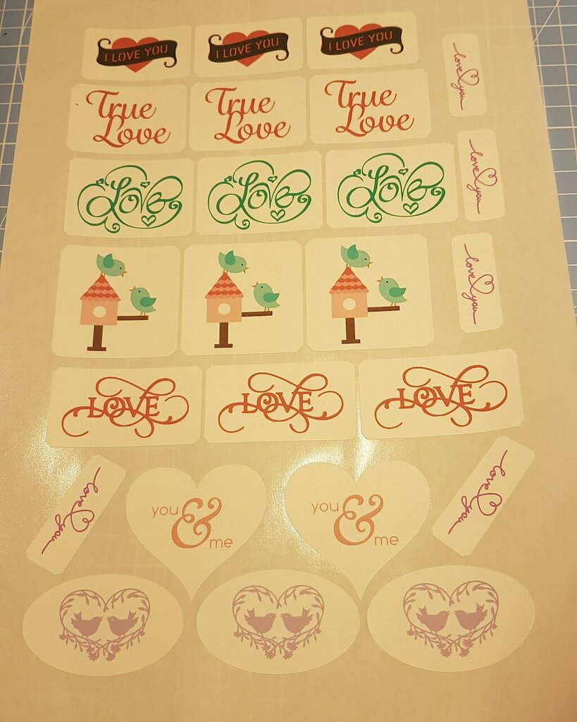 Stickers pronti all'uso