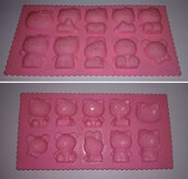 "Stampo in silicone ""Hello Kitty"""
